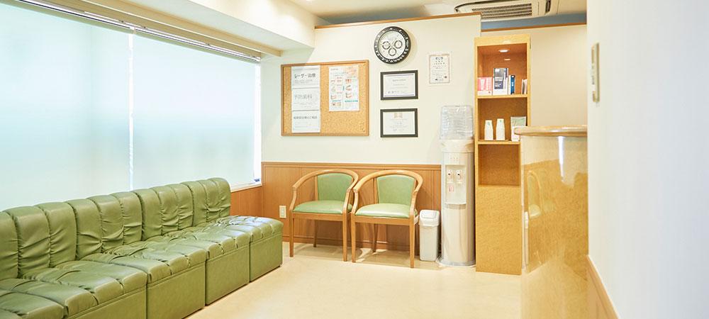 衛生管理が行き届いた歯科医院